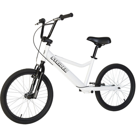 Strider 20 Sport Kid's Balance Bike | White SR-S1WH