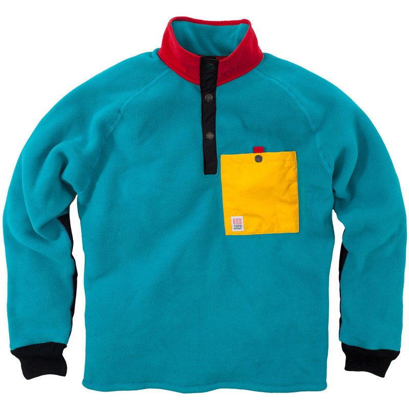 Topo Designs Fleece Jacket | Turquoise