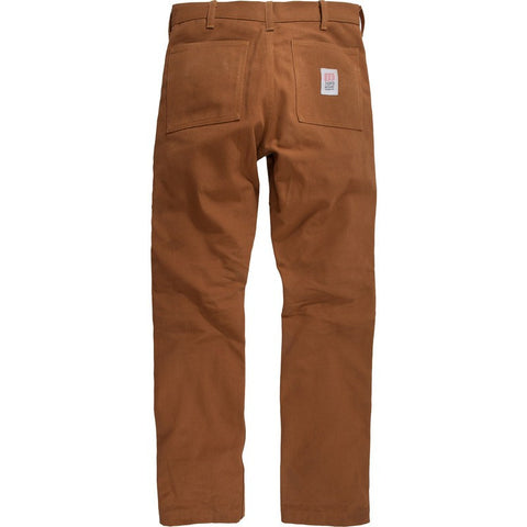 Topo Designs Duck Canvas Work Pants | Brown