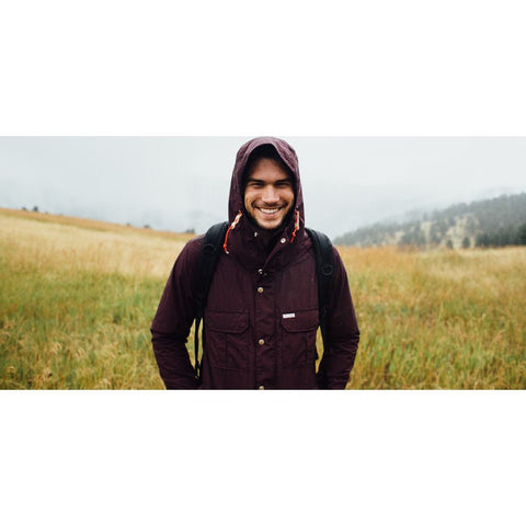 Topo Designs Mountain Jacket | Burgundy