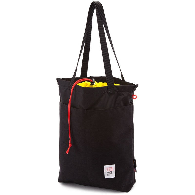 Topo Designs Cinch Tote Bag | Black