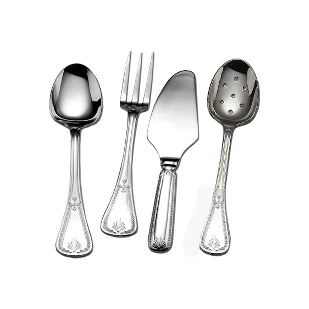 Couzon Consul Four Piece Hostess Set | Stainless Steel 148310