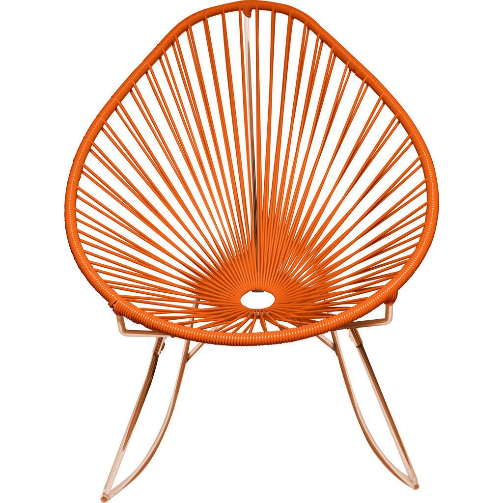 Innit Designs Junior Acapulco Rocker Chair | Copper/Orange
