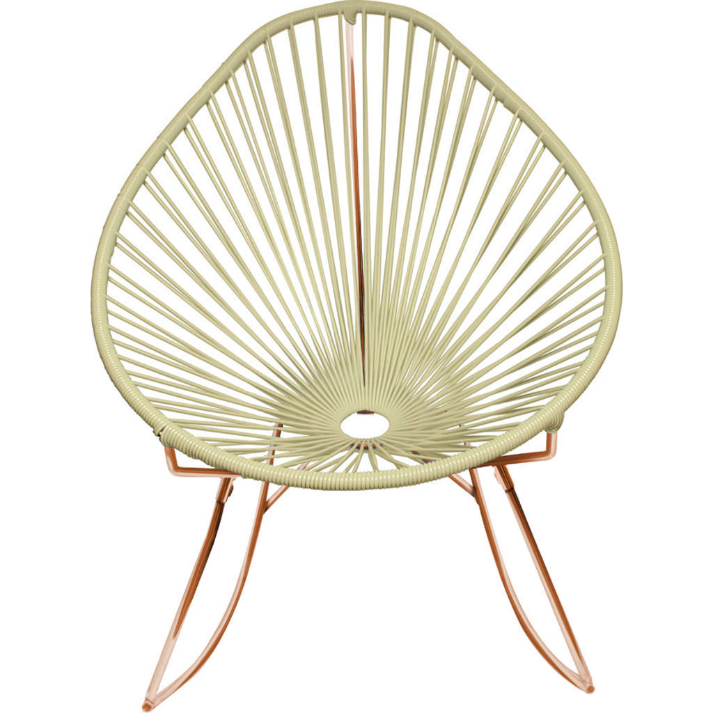 Innit Designs Junior Acapulco Rocker Chair | Copper/Ivory