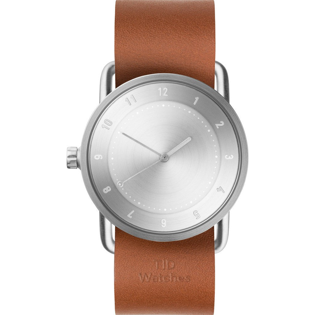 TID No. 2 36 Steel Watch | Tan Leather