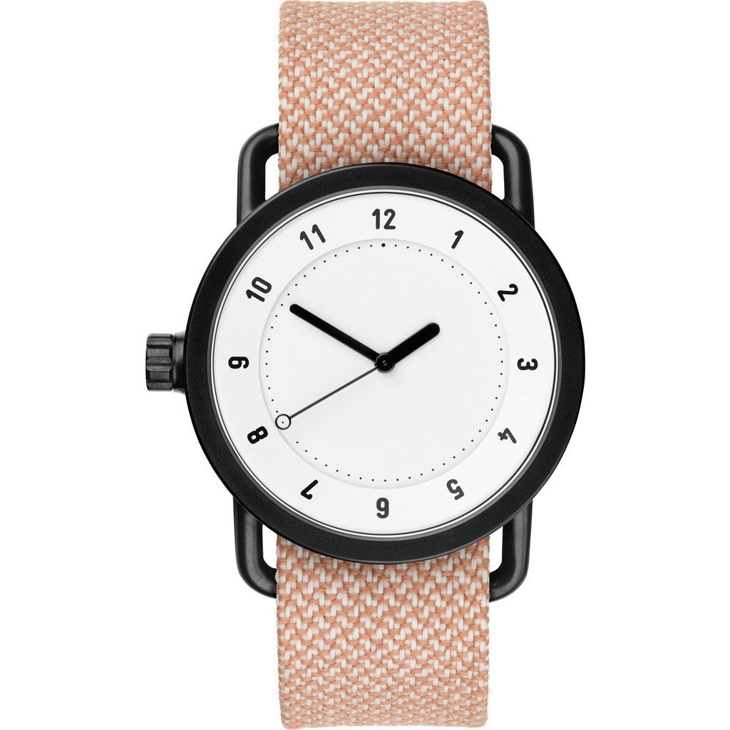 TID No. 1 36 White Watch | Salmon Twain