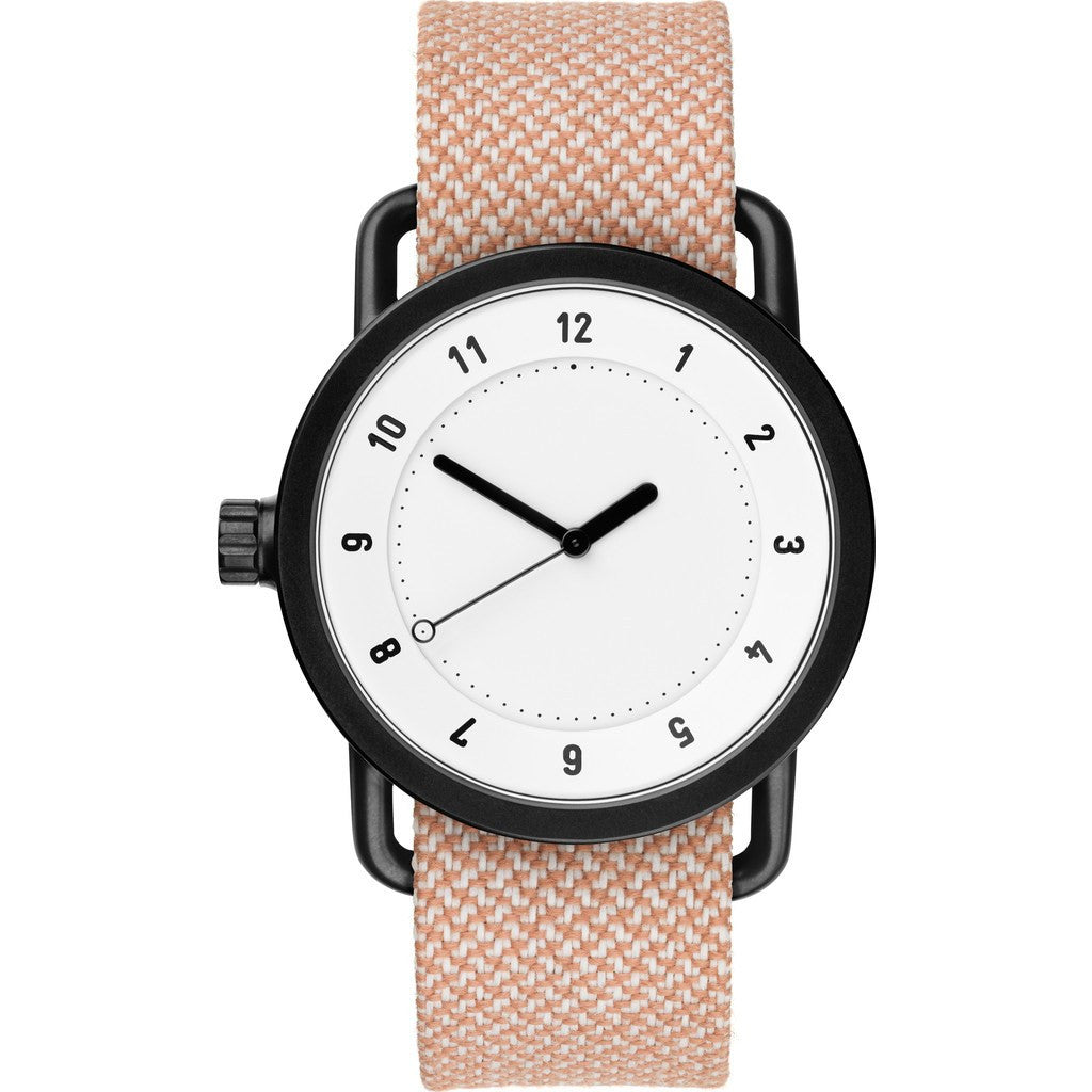 TID No. 1 White Watch | Salmon Twain 10110145