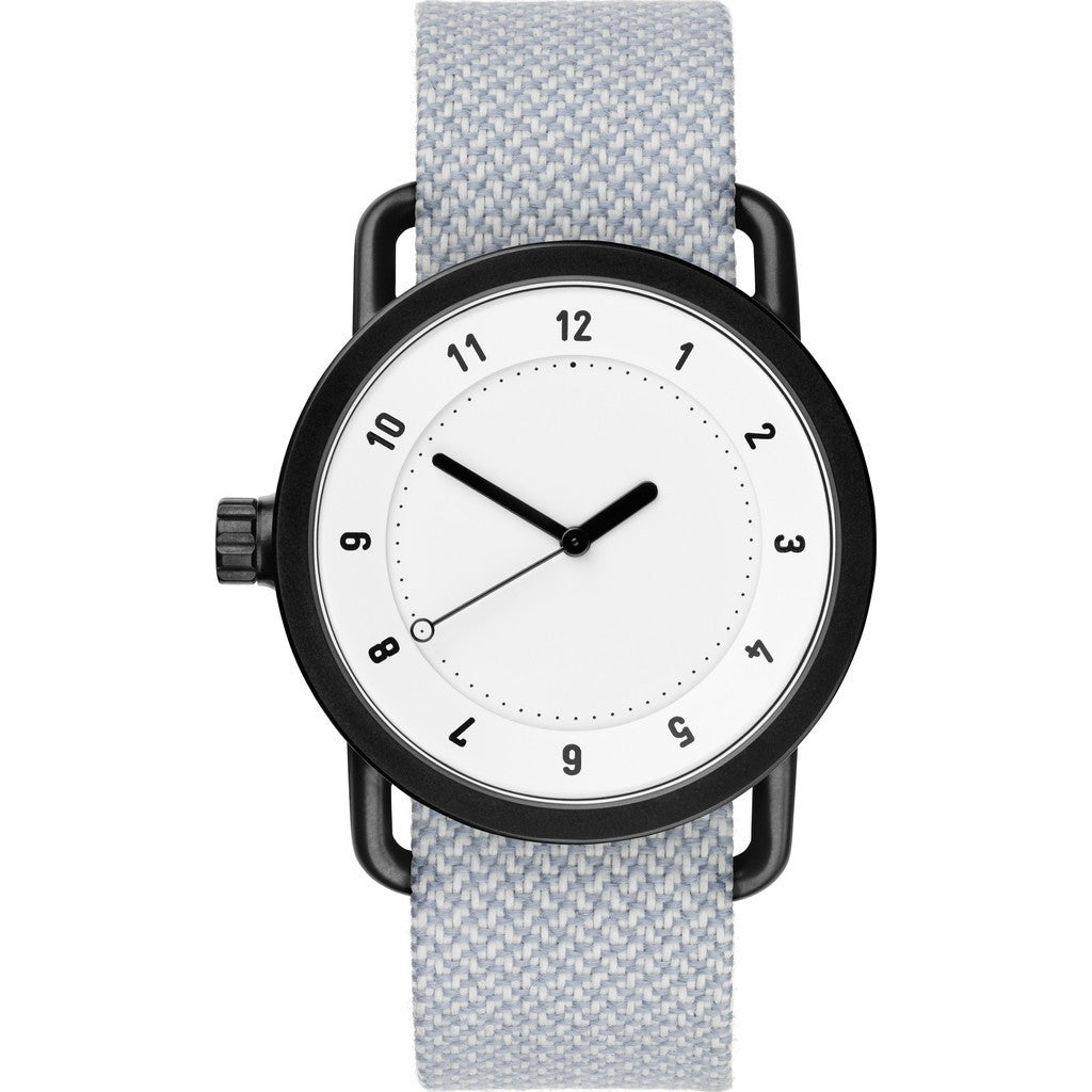 TID No. 1 White Watch | Mineral Twain 10110149