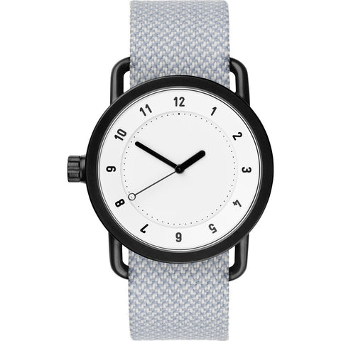 TID No. 1 36 White Watch | Mineral Twain