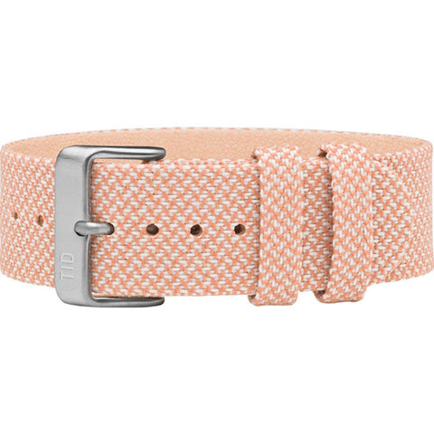 TID No. 2 Twain Watch Strap | Salmon