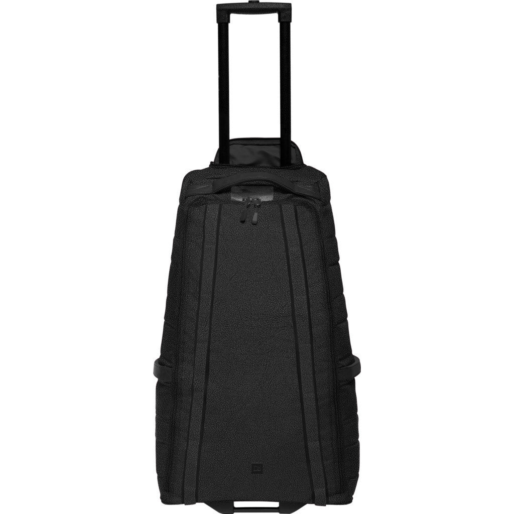 Douchebags Little Bastard 60L Roller Suitcase | Black Leather 151l