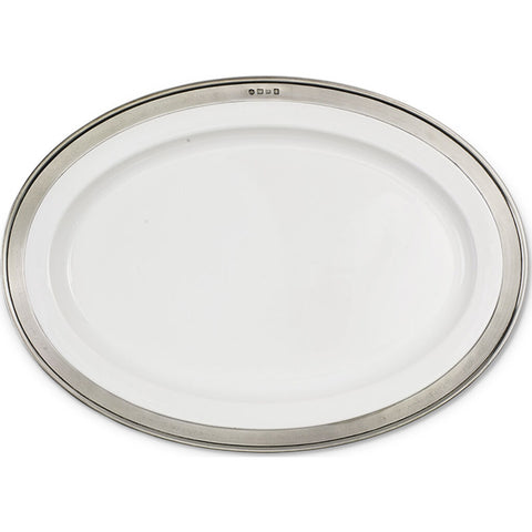 Match Convivio Oval Serving Platter | Medium
