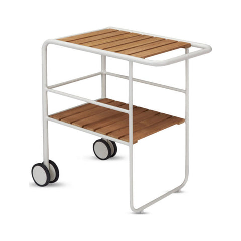 Skagerak Fuori Serving Trolley | Teak