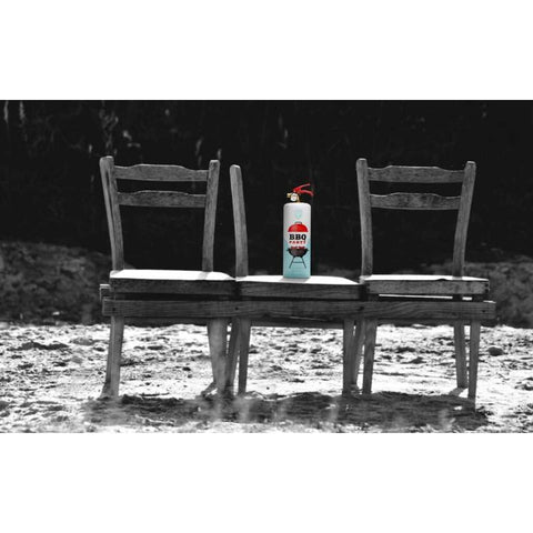 Safe-T Designer Fire Extinguisher | Love Life - BBQ