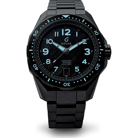 Boldr Odyssey Freediver Automatic Dive Watch | Meteo 113