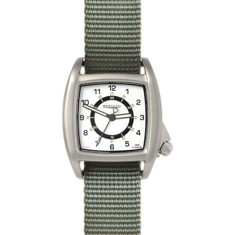 Bertucci C-1T Lusso Field Watch | Drab Nylon
