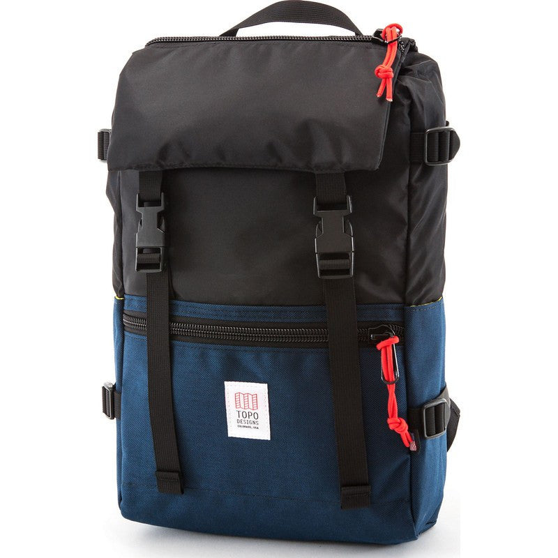 Topo Designs Rover Pack Backpack | Navy/Black