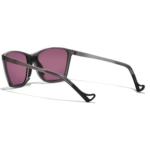 District Vision Keiichi Gray Sunglasses | District Black Rose