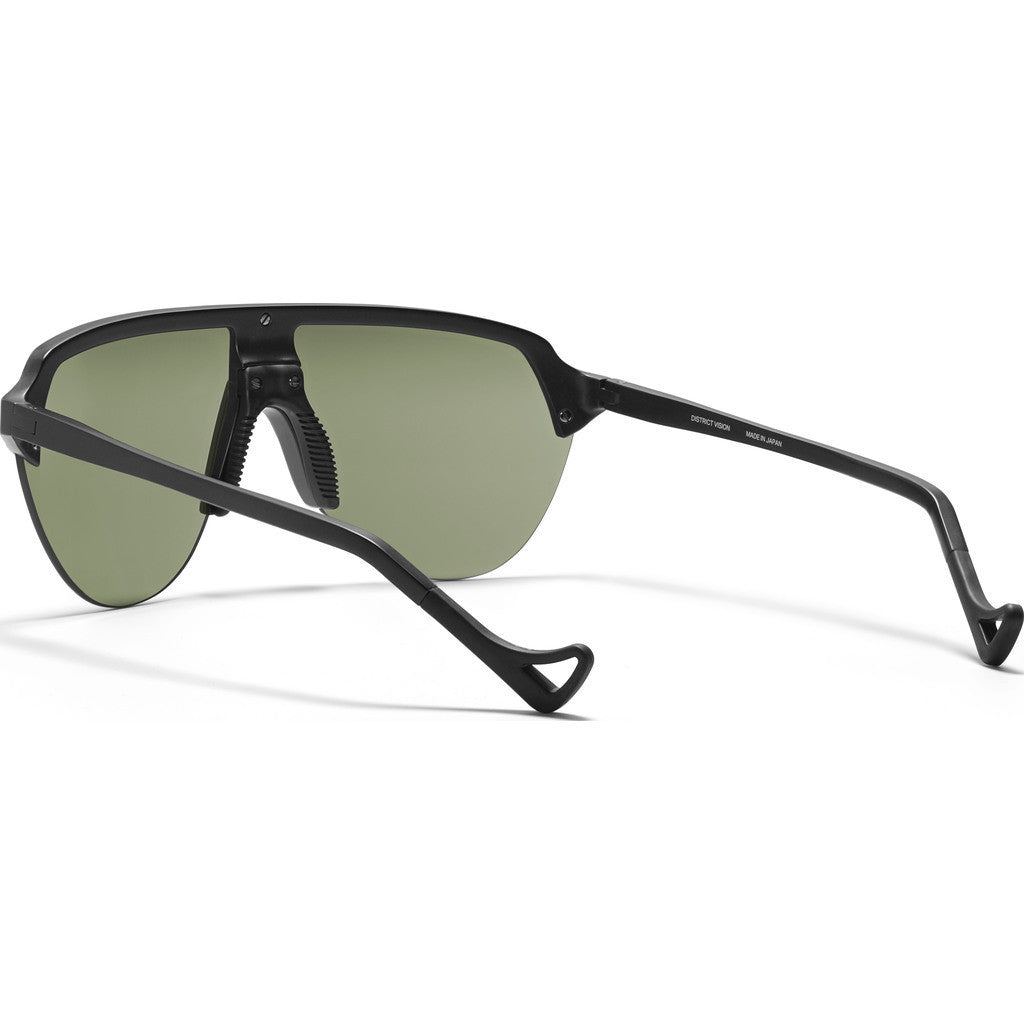 District Vision Nagata Black Sunglasses | District Sky G15