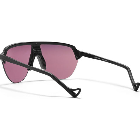 District Vision Nagata Black Sunglasses | District Black Rose