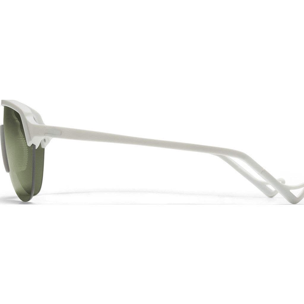 District Vision Nagata White Sunglasses | District Sky G15