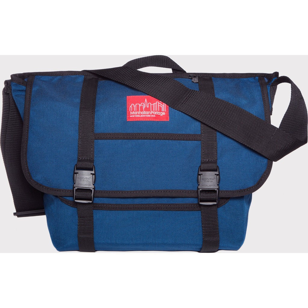 Manhattan Portage Medium NY Messenger Bag | Camouflage 1606 CAM / Grey 1606 GRY / Navy 1606 NVY
