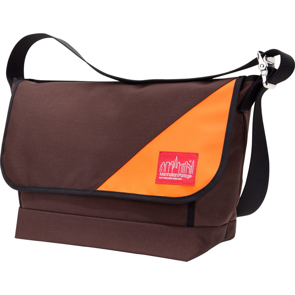 Manhattan Portage Large Sputnik 2.0 Messenger Bag | Dark Brown/Orange 1607V-SP-2 DBR/ORG | Grey/Red 1607V-SP-2 GRY/RED | Navy 1607V-SP-2 NVY/NVY