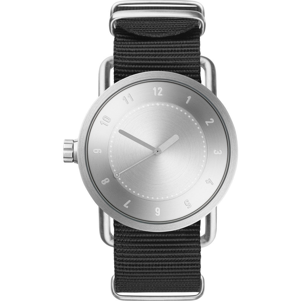 TID No. 1 Steel Watch | Black Nylon 10020221