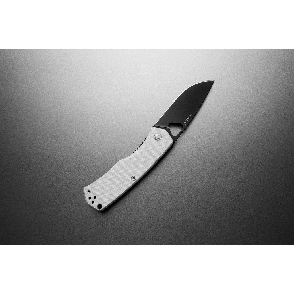 James Knives The Folsom Knife |  Bone/Black KFOL3201