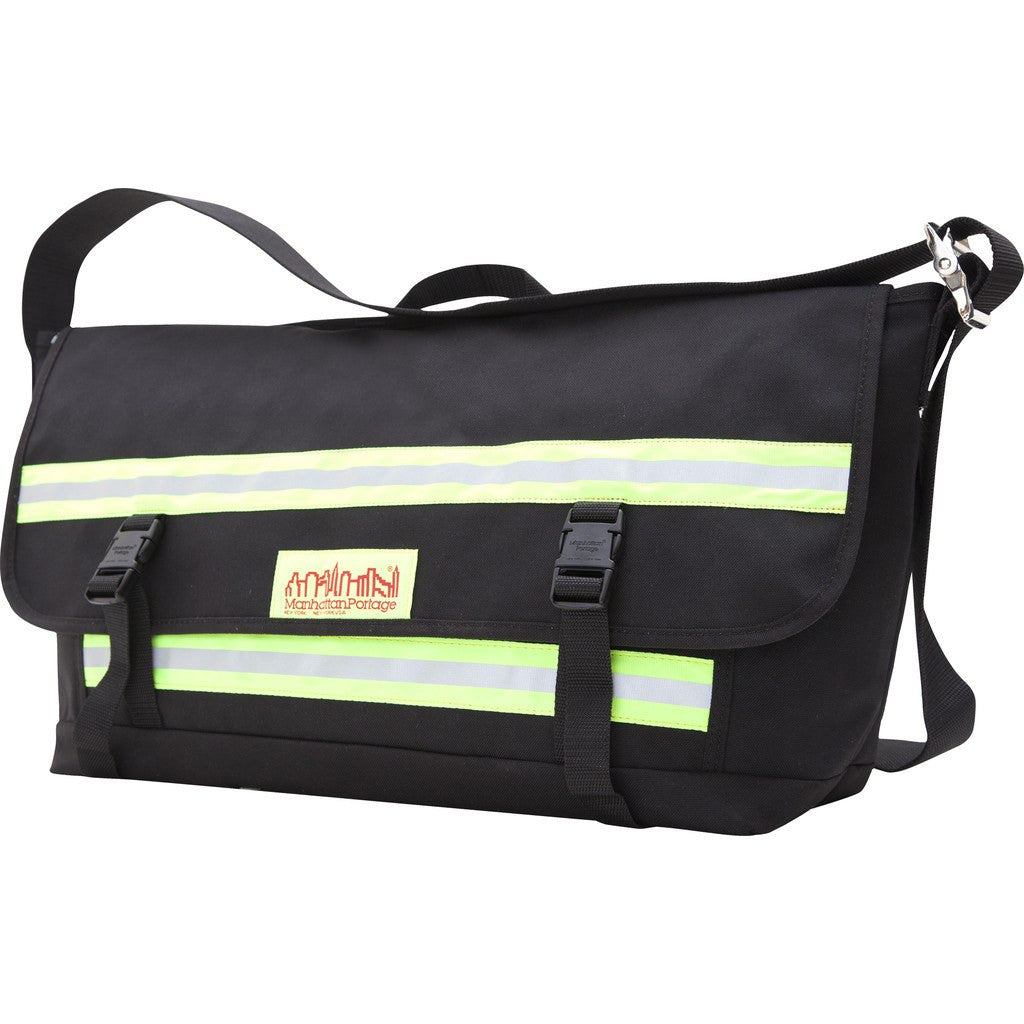 Manhattan Portage Large Pro Bike Messenger Bag | Black/Stripe 1611 BLK / Camouflage 1611 CAM / Dark Brown 1611 DBR