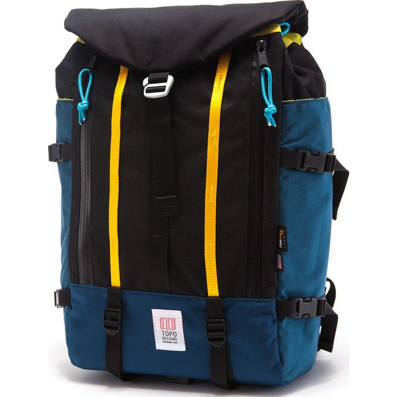 0b43eff59 Topo Designs Mountain Pack Backpack Navy/Black - Sportique