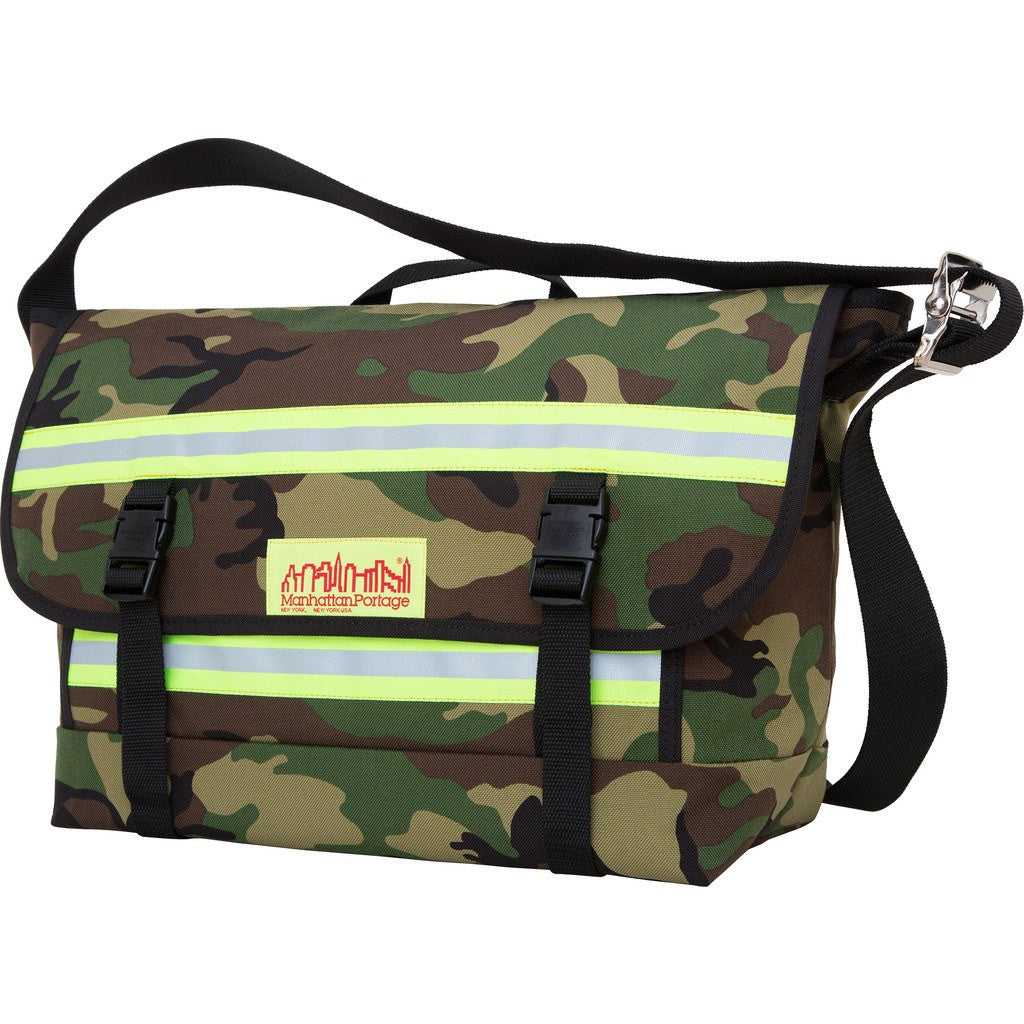 Manhattan Portage Medium Pro Bike Messenger Bag | Black 1617 BLK/Navy 1617 NVY/Camouflage 1617 CAM/Orange 1617 ORG