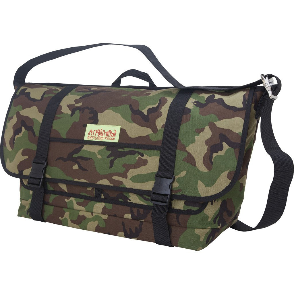 Manhattan Portage XL Bike Messenger Bag | Black 1620 BLK / Camouflage 1620 CAM