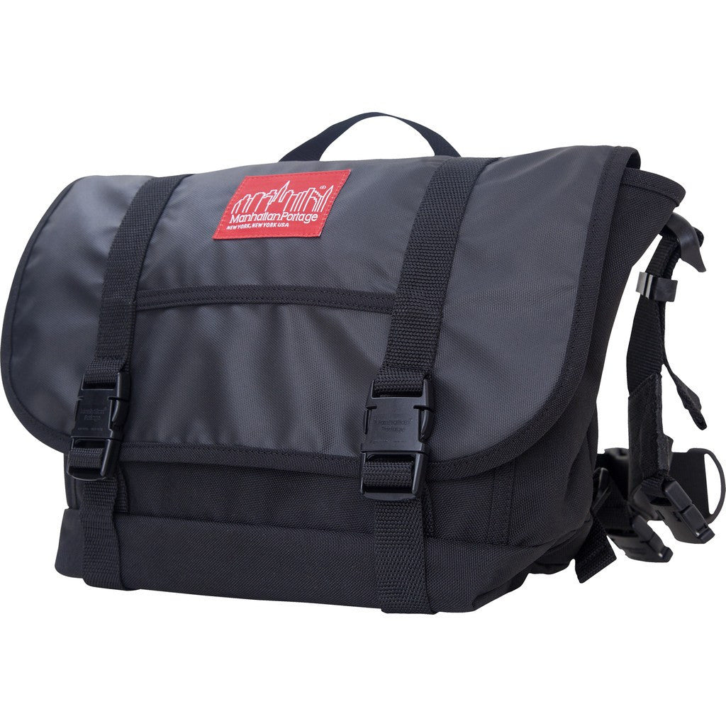 Manhattan Portage Medium NY Minute Messenger Bag | Black 1624 BLK