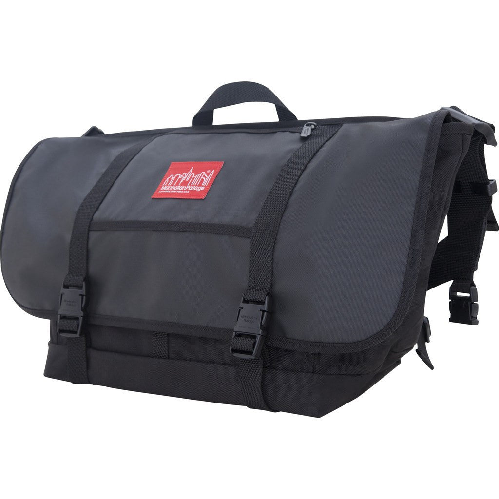 Manhattan Portage Large NY Minute Messenger Bag | Black 1625 BLK
