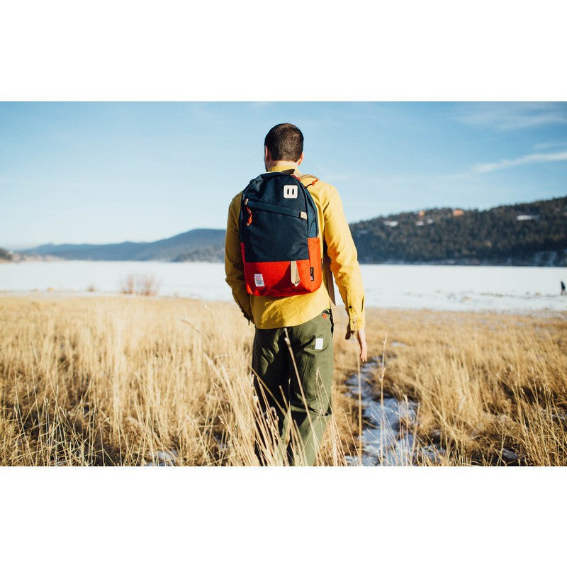 Topo Designs Daypack Backpack | Red/Navy