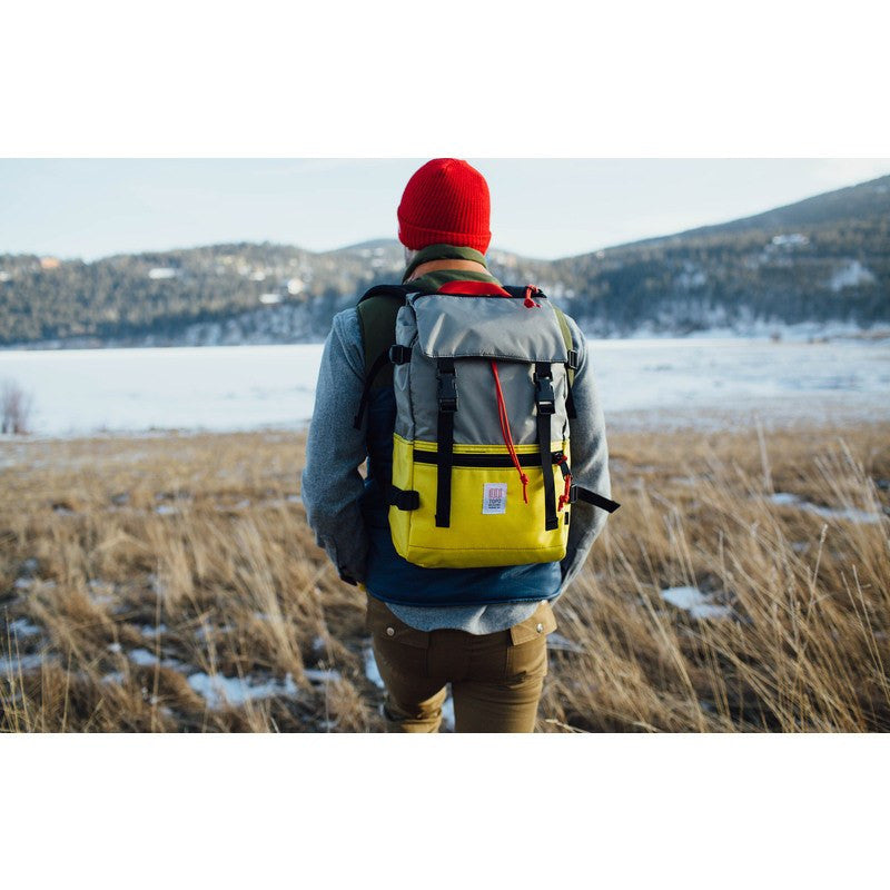 Topo Designs Rover Pack Backpack | Yellow/Silver