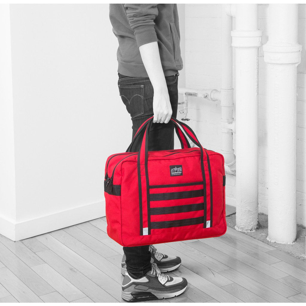 Manhattan Portage Yorkville Briefcase | Black 1628-BL BLK/Grey 1628-BL GRY/Navy 1628-BL NVY/Red 1628-BL RED