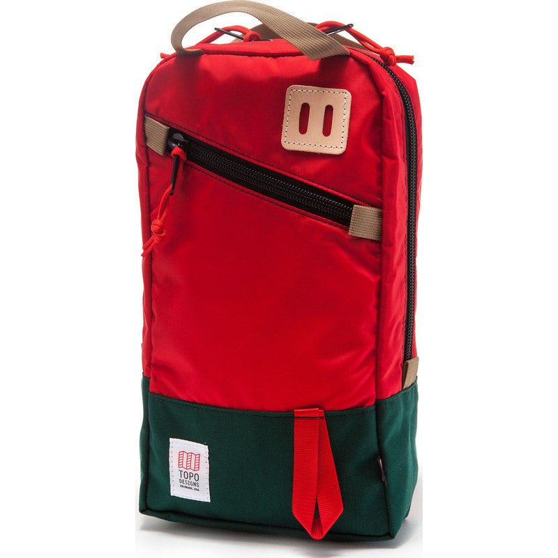 Topo Designs Trip Pack Backpack | Forest/Red