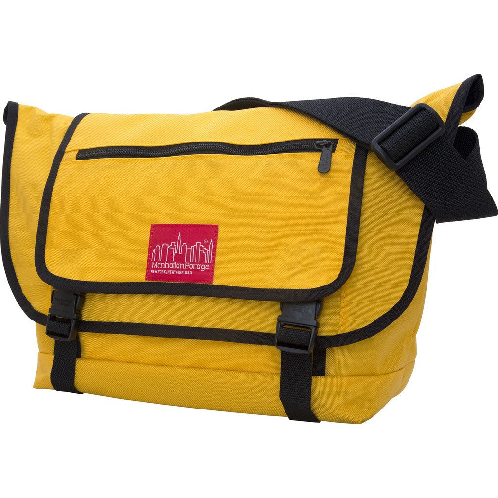 Manhattan Portage Willoughby Messenger Bag | 1637-2 BLK / 1637-2 GRN / 1637-2 GRY / 1637-2 MUS / 1637-2 NVY / 1637-2 RED