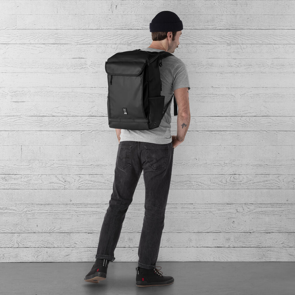 Chrome Volcan Backpack | 31L Black BG-260-BKTP-NA