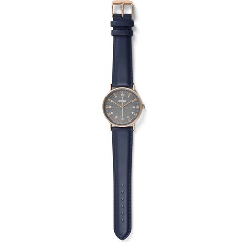 Breda Watches Belmont Watch | Rose Gold/Navy 1646h