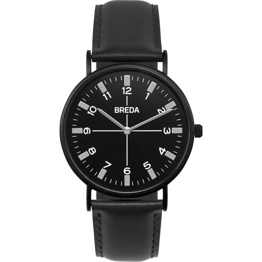 Breda Watches Belmont Watch | Black/Black 1646m