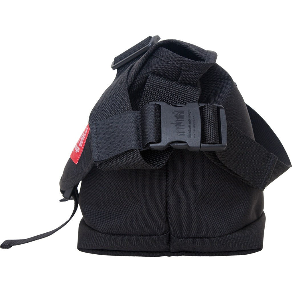 Manhattan Portage Large Straphanger Messenger Bag | Black 1647 BLK / Grey 1647 GRY