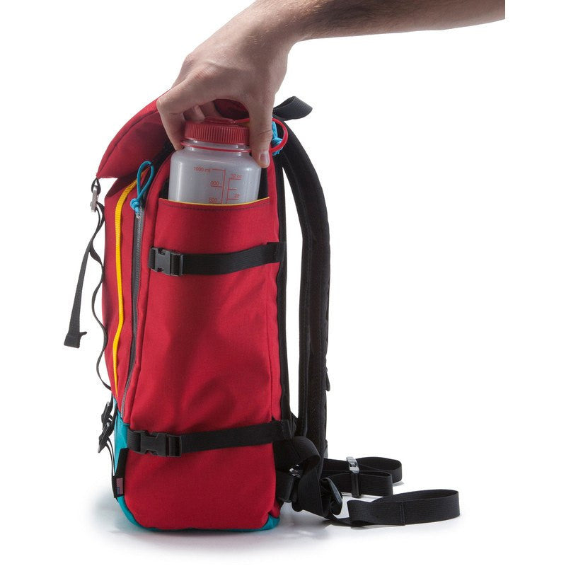 Topo Designs Mountain Pack Backpack | Red/Turquoise