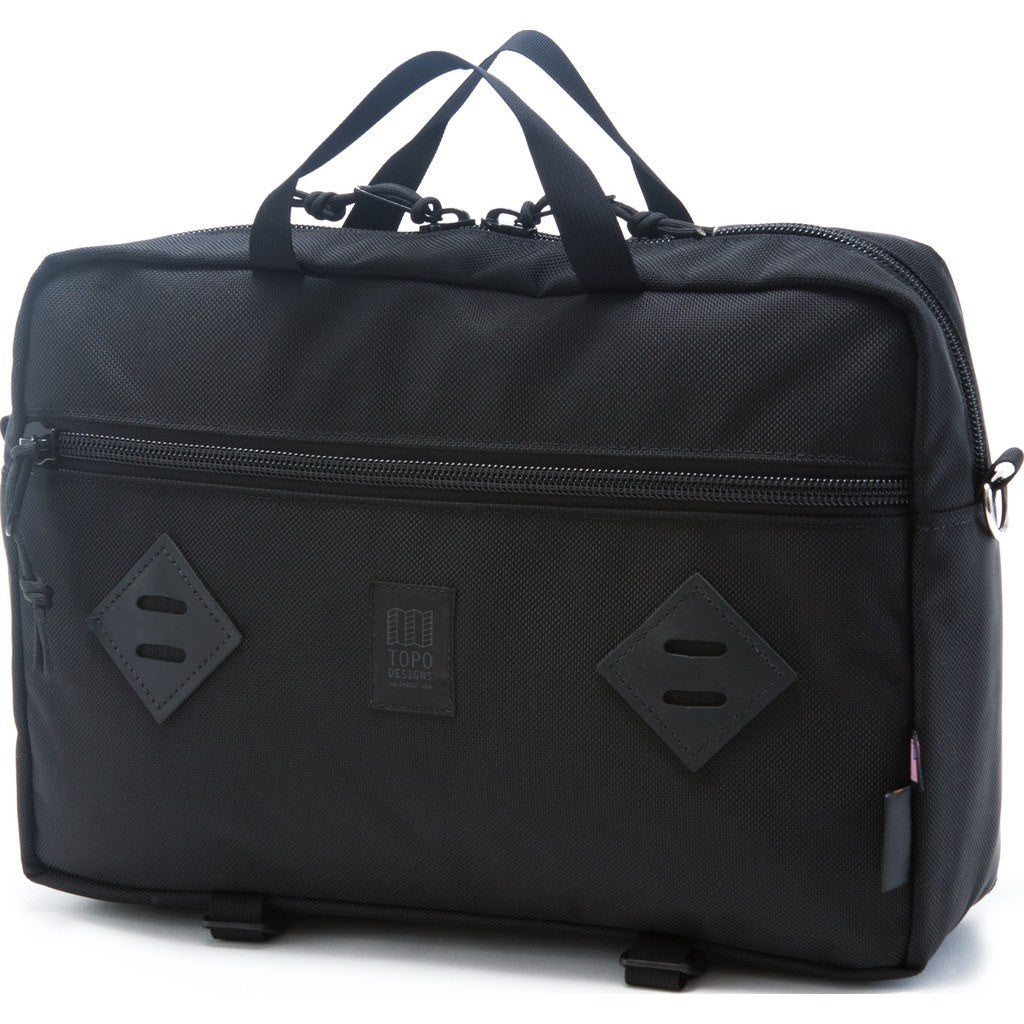 Topo Designs Mountain Briefcase | Ballistic Black