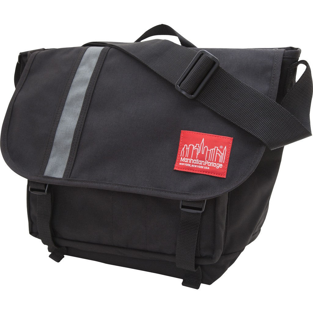 Manhattan Portage Dana's Messenger Bag | Black/Grey 1690 BLK/GRY | Grey/Red 1690 GRY/RED
