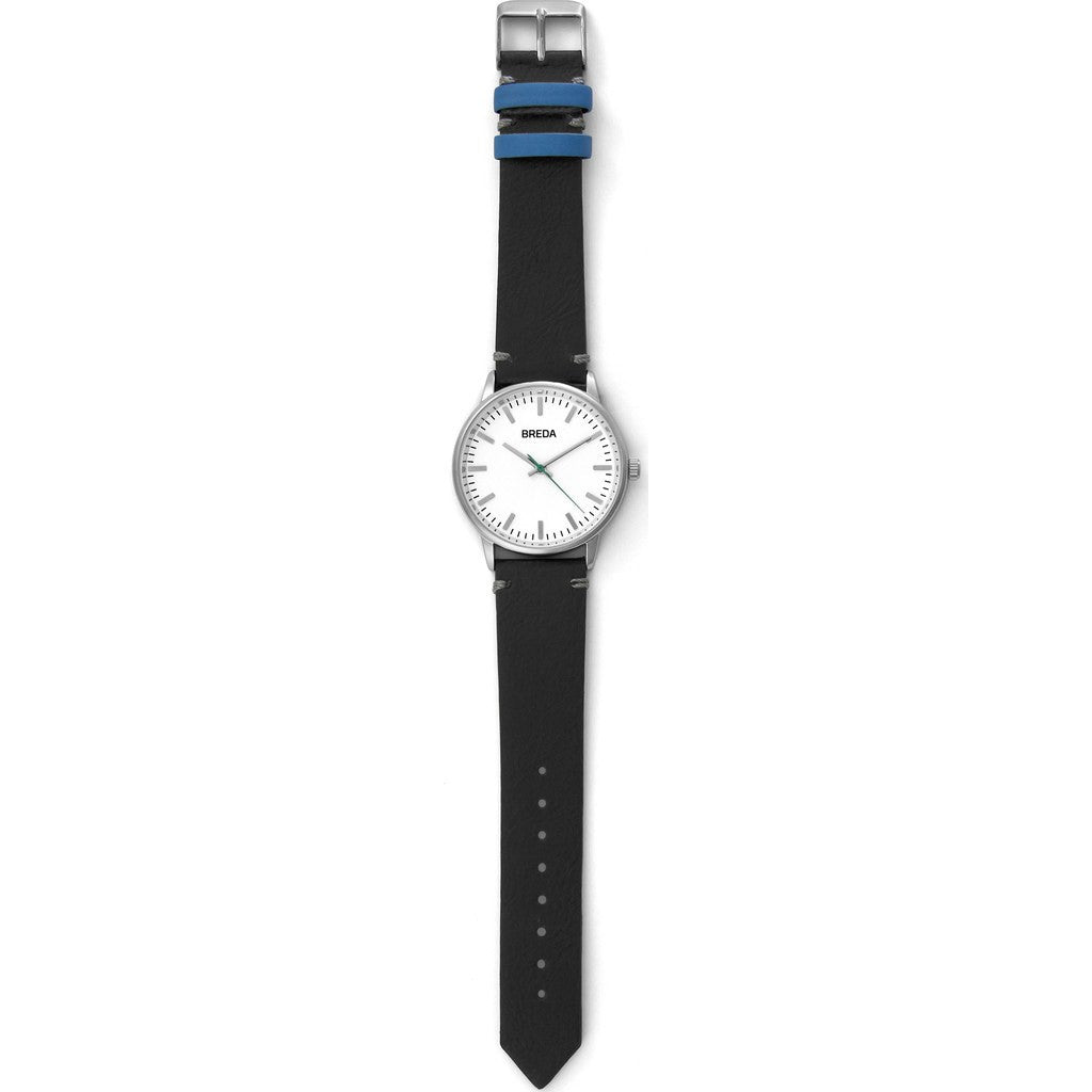 Breda Watches Zapf Watch | Silver/Black 1697e