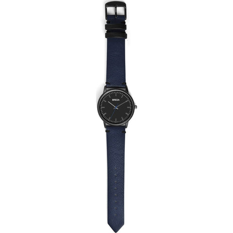 Breda Watches Zapf Watch | Gunmetal/Navy 1697g
