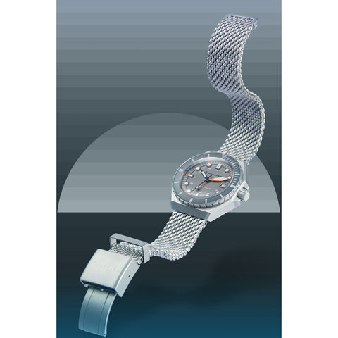 Spinnaker Dumas SP-5081-88 Automatic Watch | Grey/Steel